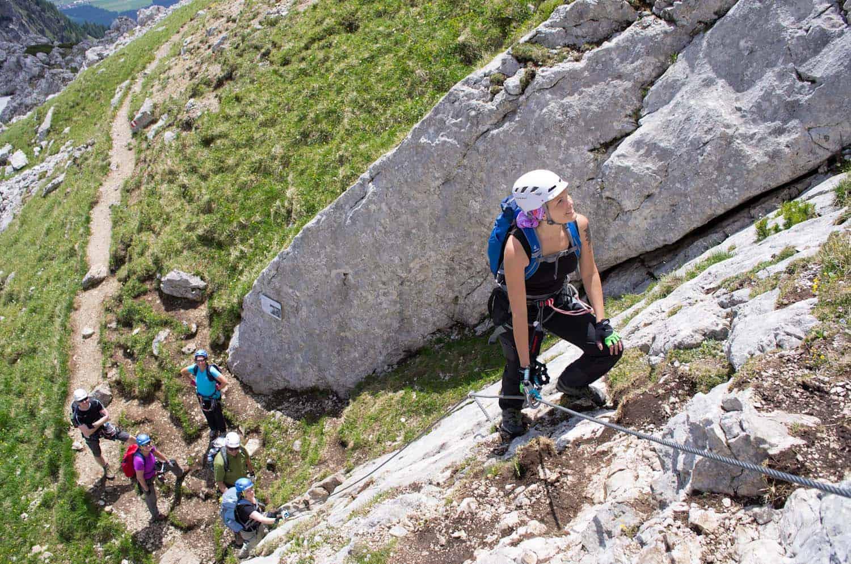 Klettersteigset Empfehlung : Klettersteigset test edelrid mammut salewa