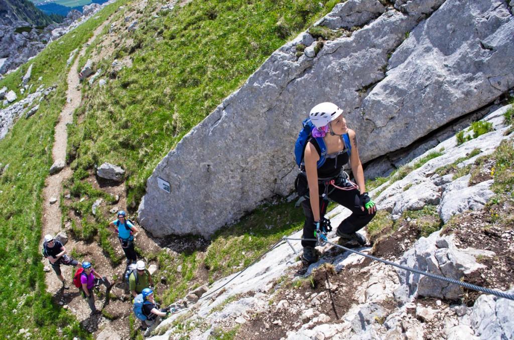 Klettersteig Tirol : Alles klettersteig kurse bergführer zufriedenheitsgarantie