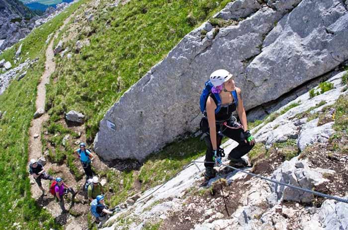 Klettersteigkurs Am Achensee
