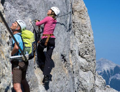 Fünf Gipfel Klettersteig Achensee – Rofan