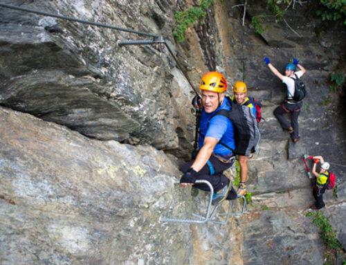 Huterlaner Klettersteig – Mayrhofen – Zillertal